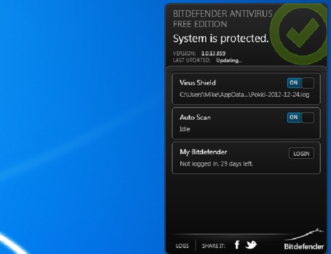 Bitdefender Antivirus Free Edition Free Download - FileMartin com