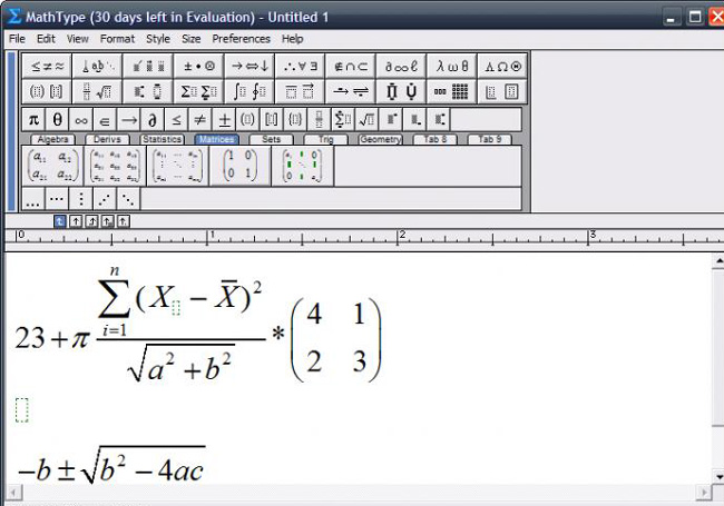 equation editor gratis
